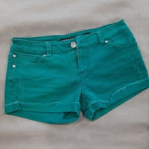3/$25🎉 Adorable Teal Jean Shorts